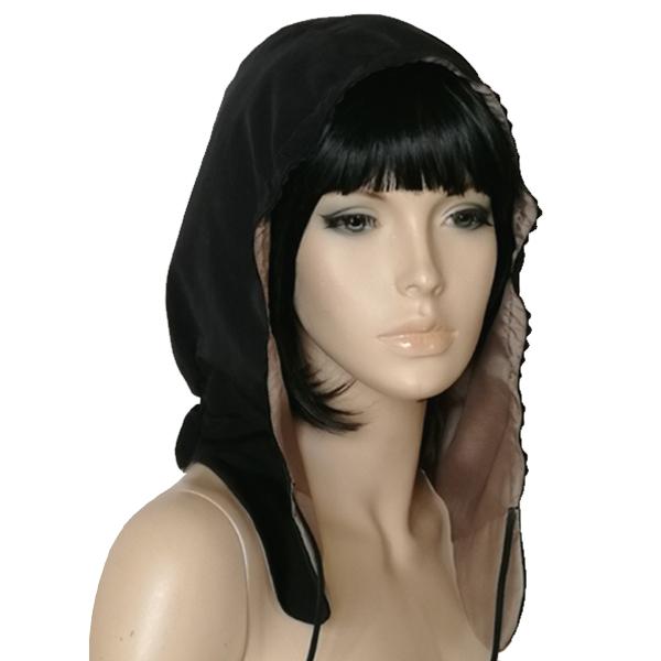 capuche de pluie - Black Elena